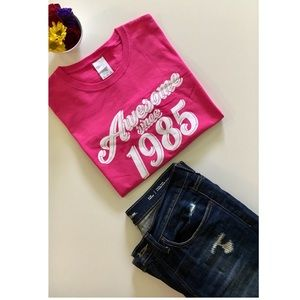 Tops - •Awesome since 1985• t-shirt